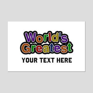 World's Greatest Custom Mini Poster Print