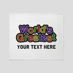 World's Greatest Custom Throw Blanket