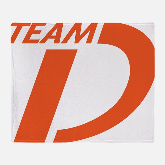 Team Dystonia Logo Throw Blanket
