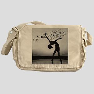Ballet Dancer Messenger Bag