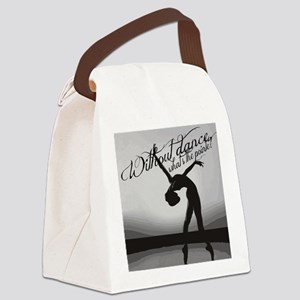 Ballet Dancer Canvas Lunch Bag