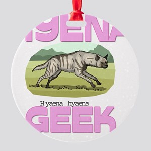 HYENA107226 Round Ornament
