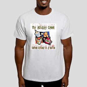 Bottled Holiday Cheer Ash Grey T-Shirt