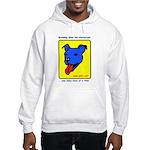 Blue Dog Hooded Sweatshirt