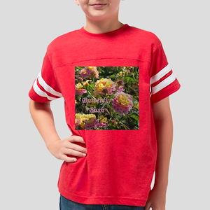 ButterflyBushTile Youth Football Shirt