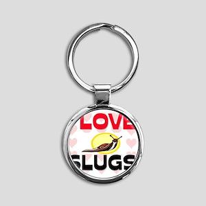 SLUGS6266 Round Keychain