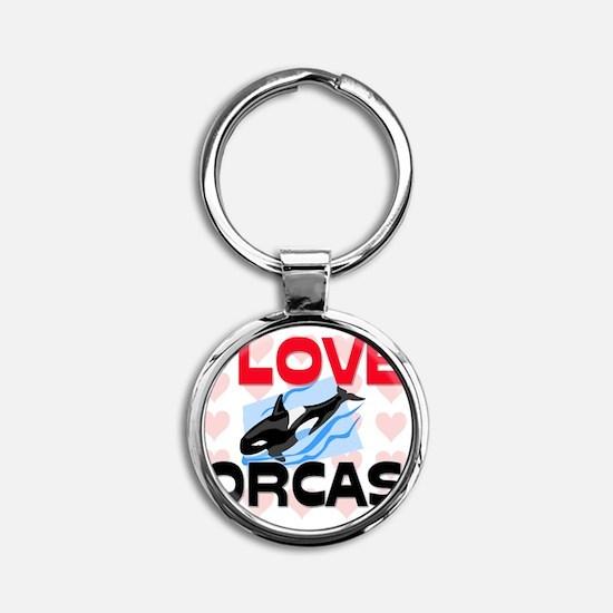 ORCAS98149 Round Keychain