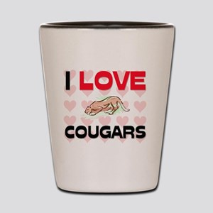 COUGARS28315 Shot Glass