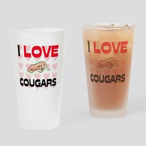 COUGARS28315 Drinking Glass