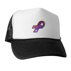 AUTISM Ribbon Trucker Hat