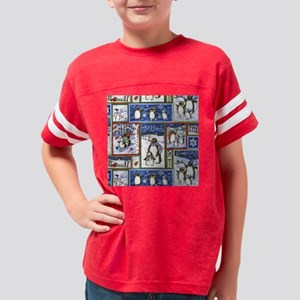 Penguins Youth Football Shirt