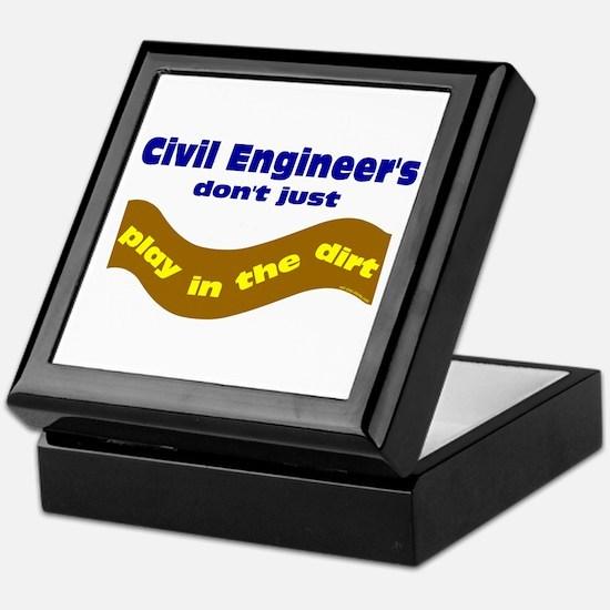 Civil Engineers Play Keepsake Box