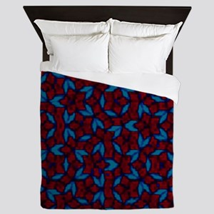 flowers Queen Duvet