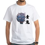 White Blue Demon T-Shirt