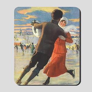 Vintage Love and Romance Mousepad
