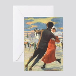 Vintage Love and Romance Greeting Card