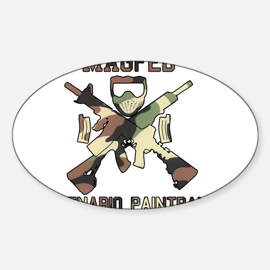 MAGED Scenario Paintball Decal