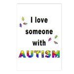 I Love Someone With Autism! Postcards (Package of