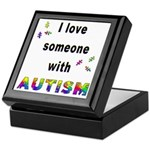 I Love Someone With Autism! Keepsake Box