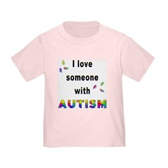 I Love Someone With Autism! (2-Sided) Toddl