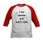 I Love Someone With Autism! (2-Sided) Kids Basebal