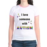 I Love Someone With Autism! (2-Sided) Jr. Ringer T