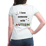 I Love Someone With Autism! (BackDesign) Jr. Ringe