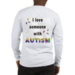 I Love Someone With Autism! (BackDesign) Long Slee