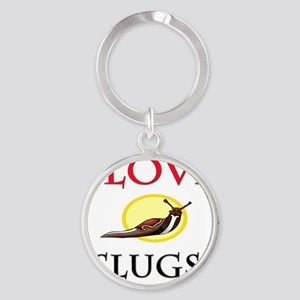 SLUGS10966 Round Keychain