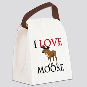 MOOSE6168 Canvas Lunch Bag