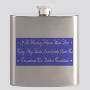 If the founding fathers were alive today Flask