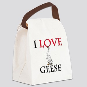 GEESE18266 Canvas Lunch Bag