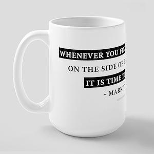 Mark Twain Quote Large Mug