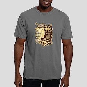 Russian Blue Cat Shirt Mens Comfort Colors Shirt