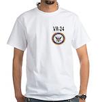 VR-24 White T-Shirt