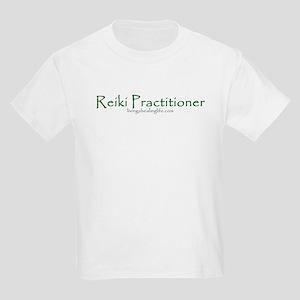 Reiki Practitioner, green Kids T-Shirt