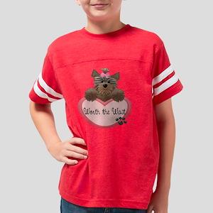 JRettYorkie_51365 Youth Football Shirt