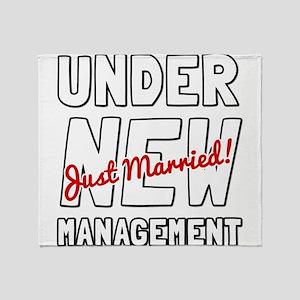 Under New Management Throw Blanket