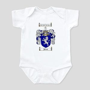 Jones Coat of Arms / Family Crest Infant Bodysuit