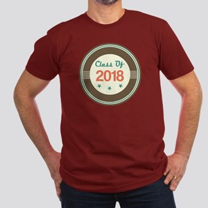 Class of 2018 Vintage Men's Fitted T-Shirt (dark)