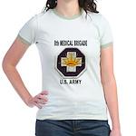 8TH MEDICAL BRIGADE Jr. Ringer T-Shirt
