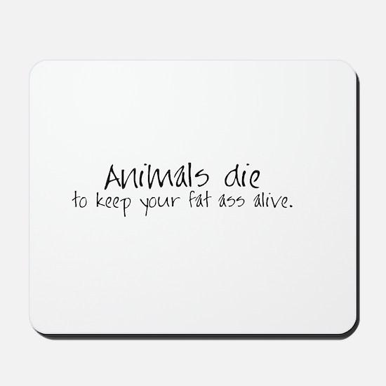 Animals die Mousepad