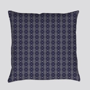 Meshed (Blue) Everyday Pillow