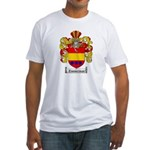 Zimmerman Coat of Arms Crest Fitted T-Shirt