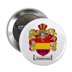 Zimmerman Coat of Arms Crest Button