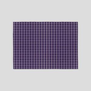 Meshed (Purple) 5'x7'Area Rug