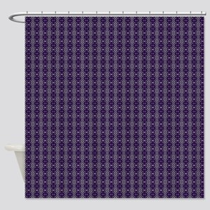 Meshed (Purple) Shower Curtain
