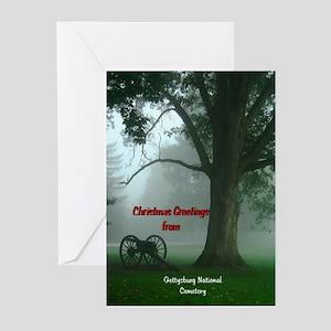 Gettysburg Natl Cemetery Christmas Cards(Pack of 6