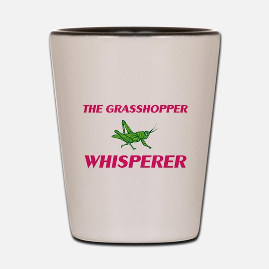 The Grasshopper Whisperer Shot Glass