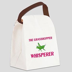 The Grasshopper Whisperer Canvas Lunch Bag